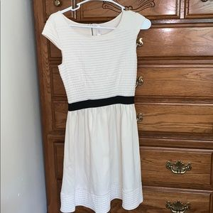 Off white formal dress